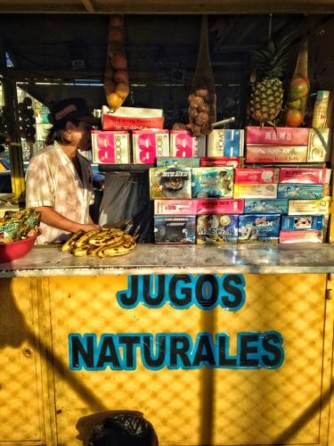 Jugo Naturales Juice Vendor Colombian Cultural Quirks