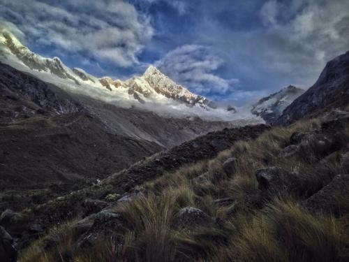 Alpamayo Santa Cruz Trek Hiking Mountain Glacier Peru