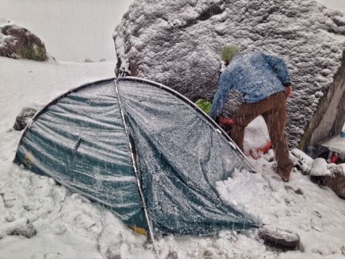 Chachani Camping Snow Tent