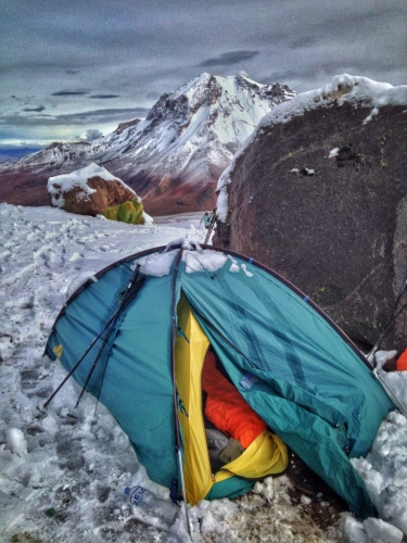 Chachani Mountain Camping Peru