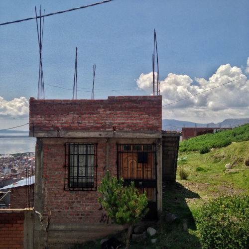 Peru Houses Never Finished Construction Puno Peruvian Cultural Quirks