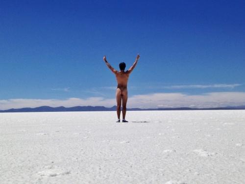 Salar De Uyuni Salt Flats Andrew Schultz Naked Bolivia
