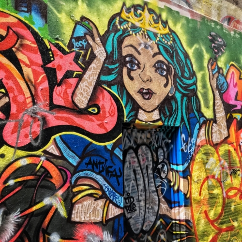 Melbourne Street Art Sight Seeing