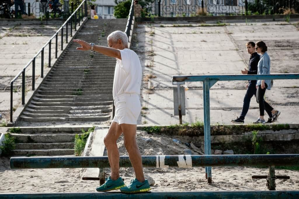 Ivan Kyiv Ukraine Balancing
